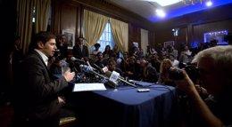 Foto: Argentina.- Argentina anuncia que el G77 presentará ante la ONU un proyecto de marco regulatorio sobre deudas soberanas (CARLO ALLEGRI / REUTERS)