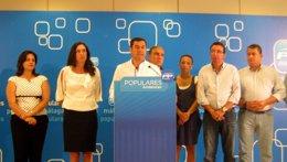 """Foto: Moreno (PP-A) destaca el trabajo de Carlos Argos, """"un referente del partido"""" (EUROPA PRES)"""