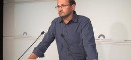 """Foto: Herrera (ICV) pide """"unidad"""" ante el 9N pero también debatir otros temas (Europa Press)"""