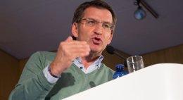 """Foto: Feijóo defenderá en Bruselas que los factores demográficos tengan un """"mayor peso"""" en la política de cohesión (PPDEG)"""