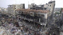 Foto: La reconstrucción de Gaza podría durar 20 años y costar hasta 4.500 millones de euros (IBRAHEEM ABU MUSTAFA/REUTER)