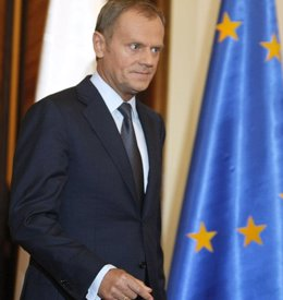 Foto: Van Rompuy revela involuntariamente que hay acuerdo para que Tusk presida el Consejo Europeo (Reuters )
