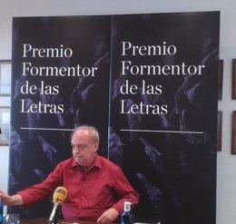 "Foto: Enrique Vila-Matas, Premio Formentor de las Letras 2014: ""Me encanta saber que todavía me incomprenden"" (EUROPA PRESS)"