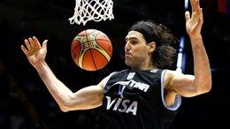 Foto: Argentina y Grecia arrancan con fuerza (FIBA.COM)