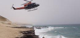 Foto: Encuentran el cuerpo sin vida del hombre desaparecido en La Caleta de Adeje (Tenerife) (CEDIDA POR EL 1-1-2)