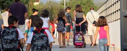 Foto: Expertos advierten de que los niños pueden sufrir estrés con el comienzo del curso (AYUNTAMIENTO DE ONDA)