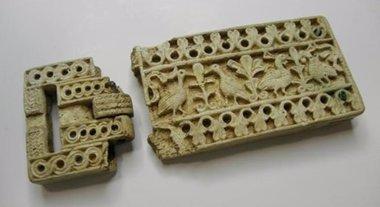 Foto: El broche altomedieval de Santa María de Hito, pieza del mes del MUPAC (MUPAC)