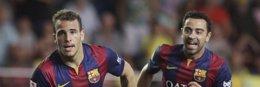 Foto: Sandro premia al Barcelona en El Madrigal (HEINO KALIS / REUTERS)