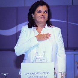 Foto: Carmen Peña, elegida presidenta de la Federación Internacional Farmacéutica (FIP) (FIP)