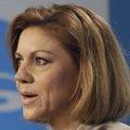 """Foto: Cospedal sobre si hay vetos para que Aguirre sea candidata: no hay vetos, """"hay que presentarse y dar el paso al frente"""" (EUROPA PRESS)"""