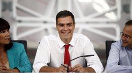 Foto: Sánchez propondrá que las primarias del PSOE para elegir candidato a la Moncloa sean en junio de 2015 (EUROPA PRESS)