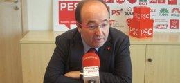 """Foto: Fòrum Cívic espera que Iceta esté """"a la altura"""" y se aleja de sus propios postulados críticos (EUROPA PRESS)"""