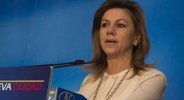 Foto: Cospedal dice que la alcaldesa de Zamora viajó al Sáhara a título personal y apuesta por respetar las vías diplomáticas (EUROPA PRESS)