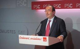Foto: El PSC enmendará la ley para que el Consell de Garanties se pronuncie sobre la pregunta (EUROPA PRESS)