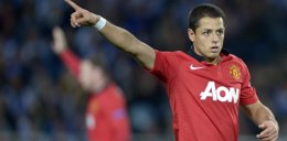 Foto: El mexicano Javier 'Chicharito' Hernández, fichado por el Real Madrid (VINCENT WEST / REUTERS)
