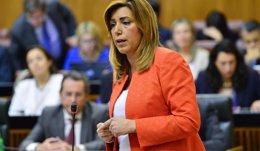 """Foto: Díaz espera que no haya """"adelanto electoral"""" en Andalucía, porque hay """"estabilidad"""" y quiere agotar la legislatura (EUROPA PRESS/JUNTA DE ANDALUCÍA)"""