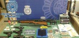Foto: Detienen en Málaga a cuatro personas por tráfico de drogas (EUROPA PRESS/POLICÍA NACIONAL)