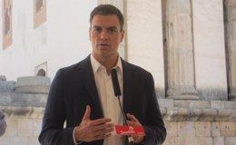 """Foto: Pedro Sánchez exige una """"respuesta contundente"""" al Gobierno para """"frenar de una vez"""" una tasa """"inaguantable"""" (EUROPA PRESS)"""