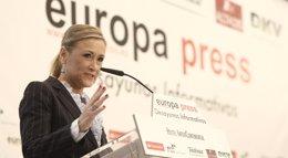 """Foto: Cifuentes: """"Los candidatos no importan si no recuperamos la confianza de los votantes"""" (EUROPA PRESS)"""