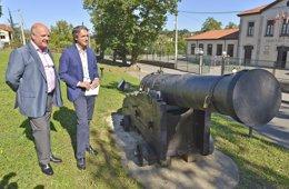 Foto: Un cañón del s. XVIII fabricado en La Cavada lanzará la salva inaugural del Mundial de Vela (AYTO )