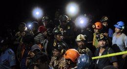 Foto: El Gobierno de Nicaragua da por muertos a los siete mineros de El Comal (REUTERS)