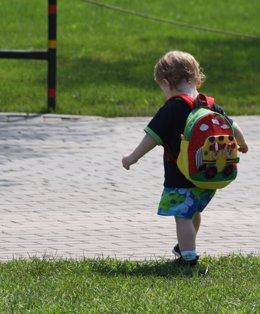 Foto: Ir al colegio sin desayunar puede afectar al rendimiento de los niños y favorece su obesidad (FLICKR/BRIDGET COILA)