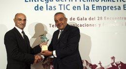 Foto: Inditex recibe el 'Premio al impulso de las TIC en la Empresa Española' de AMETIC (JOAQUIN GOMEZ SASTRE)