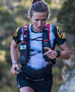 Foto: Núria Picas confía en el GPS Ambit de Suunto para sus entrenamientos y la competición (LYNDON MARCEAU)