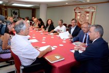 Rivero dice que sigue avanzando con la consulta ciudadana sobre las prospecciones y que la pregunta será