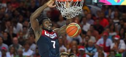 Foto: Estados Unidos no da tregua (FIBA)