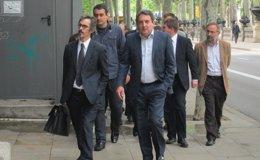 Foto: Las declaraciones por los sueldos irregulares de la FMC arrancan con Bustos y el exsecretario (Europa Press)