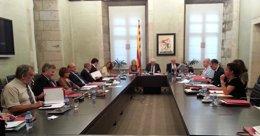 Foto: El conseller Mascarell pide a los secretarios generales que el catalán sea central en su acción de gobierno (CONSELLERIA CULTURA)