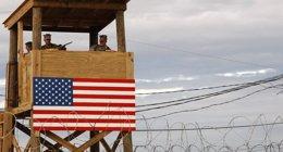 """Foto: Mujica dice que los presos Guantánamo llegarán a Uruguay cuando él disponga y añade que """"aún no están listos"""" (US NAVY)"""