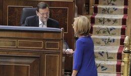 Foto: Rajoy recibe hoy a Rosa Díez en Moncloa para tratar el reto soberanista catalán (EUROPA PRESS)