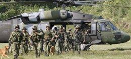 Foto: Capturan a alias 'El Profe', cabecilla del frente 32 de las FARC (REUTERS)