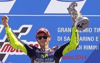 Foto: Rossi hace historia en 'casa' en un día aciago para Márquez (MAX ROSSI / REUTERS)
