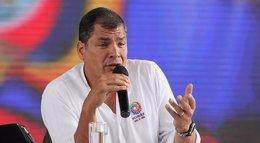 Foto: Correa anuncia que los salarios privados tendrán un límite en Ecuador (PRESIDENCIA DE ECUADOR)