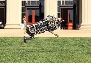 Foto: Aplican un algoritmo para que un guepardo robot corra a 48 km. por hora (MELANIE GONICK/MIT)