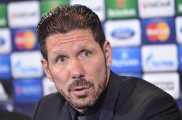 """Foto: Simeone: """"Fue un buen año, pero quedó atrás"""" (EUROPA PRESS)"""