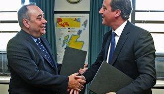Reino Unido devolverá poderes a Escocia si el 'no' gana el referéndum