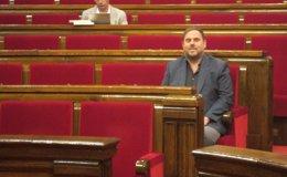 """Foto: Debate.- Junqueras se ofrece a Mas para entrar en el Govern y así """"blindar"""" la consulta (EUROPA PRESS)"""