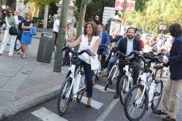 Foto: BiciMad se amplía con 40 nuevas estaciones y 400 bicicletas más (AYTO. MADRID/ EUROPA PRESS)