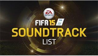 Las canciones del Fifa 15