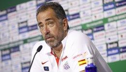 Foto: Orenga presenta la seua dimissió com a seleccionador (EUROPA PRESS/ÁNGEL RIVAS)