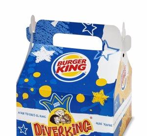 Foto: Esta semana menú Diverking por un euro más por la compra de uno grande y viajes con eDreams (BURGER KING)
