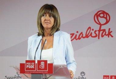 """Foto: Mendia dice que tienen """"manos libres"""" en el acuerdo con el PNV (EUROPA PRESS)"""