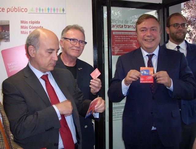 El consorcio regional de transportes abre en getafe su for Oficina del consorcio de transportes de madrid