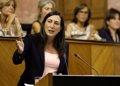 """Foto: PP-A propone a Díaz acabar con la corrupción """"pero con hechos"""" (EUROPA PRESS/PARLAMENTO)"""