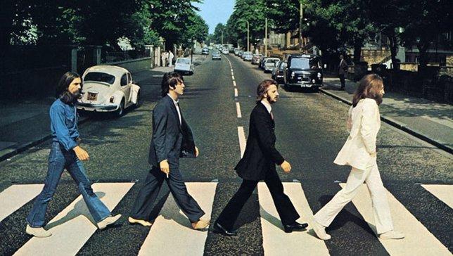 Portada del disco Abbey Road de Los Beatles