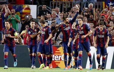 Foto: El Barça gana, pero no convence (GUSTAU NACARINO / REUTERS)